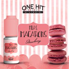 E-liquide Strawberry - Mila's Macaroons One Hit Wonder