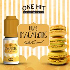 E-liquide Salted Caramel - Mila's Macaroons One Hit Wonder