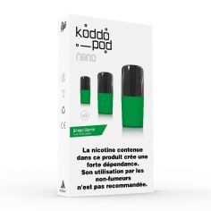 Pack 3 Pods Green Storm Le French Liquide