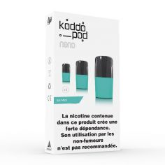 Pack 3 Pods Ice Mint Le French Liquide