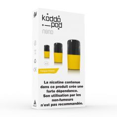Pack 3 Pods Mangue Ananas Le French Liquide