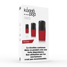 Pack 3 Pods Red Dingue Le French Liquide