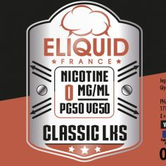 E-liquide Classic LKS 50ml Eliquid France