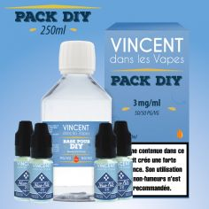 Kit DIY 50PG/50VG 250ml VDLV