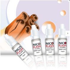 E-liquide Tabac Blond Sweet Light NICOFLASH
